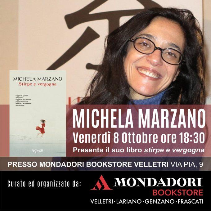 """Michela Marzano con """"Stirpe e vergogna"""" alla Mondadori di Velletri"""
