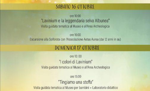 Museo Civico Archeologico Lavinium:  GIORNATE FAI d'AUTUNNO 2021 – 16 e 17 OTTOBRE