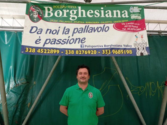 """Polisportiva Borghesiana (volley), la novità Loreti: """"Il progetto della società mi ha stimolato"""""""
